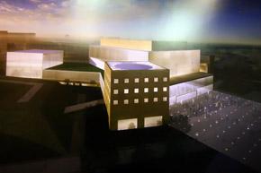 Концерт-холл предназначен и для выставок.