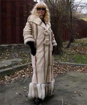 Марина Зиброва: - Шубу нужно уметь носить с достоинством.