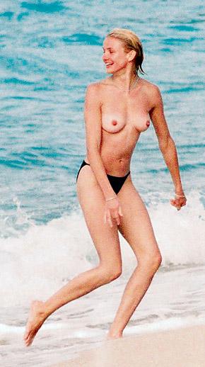 Камерон Диас никогда не стеснялась своего тела.