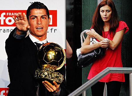 Криштиану Роналду завоевал и «Золотой мяч», и новую девушку.