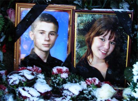 Катю похоронили в одном гробу с женихом Димой.