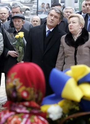 Параску не подпустили к Ющенко, потому что ее не было в списке приглашенных.