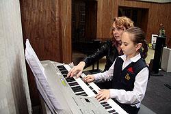 В академии приветствуется игра на органе