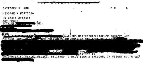 Рассекреченные документы замазаны почти полностью. Что-либо понять невозможно.