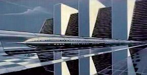 Люди будут летать на поездах-магнитопланах со скоростью 6400 км в час.