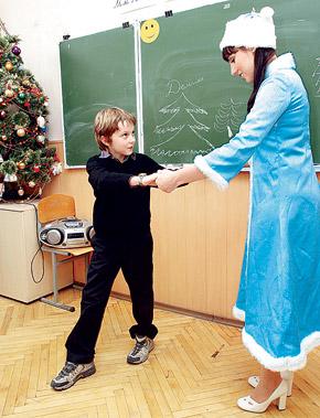 Александр Франчук: - Снегурочка, повторяй за мной!