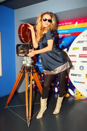 Светлана Лобода, похоже, и сама не прочь снять кино.