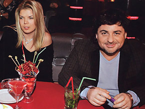 Александр Цекало с женой Викой Фото: allstars.pp.ru