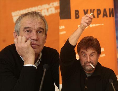 Леонид Ярмольник и Сергей Гармаш сыграли в фильме Тодоровского родителей стиляг.