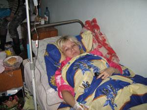 У Светланы Винниченко сломаны обе ноги.
