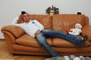 Разван Рац: - Лучший отдых - на диване!
