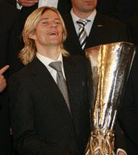 Тимощук - обладатель Кубка УЕФА.