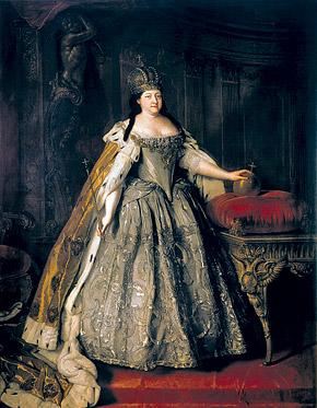 Анна Иоанновна очень старалась превзойти пышность петровских торжеств.