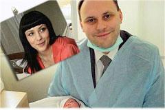 У политика Каськива и телеведущей Даниленко родилась дочка.