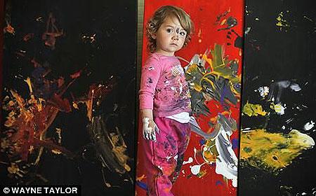 Критики сравнивают работы Аэлиты с росписями восточных ширм.