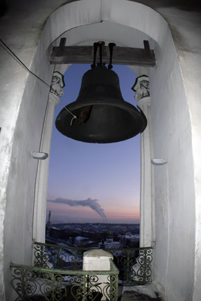 Со стометровой высоты открывается прекрасный вид на Днепр.