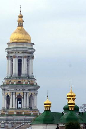 Большая колокольня - визитка Киево-Печерской лавры.