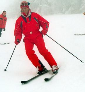 Ющенко любит отдых в горах.