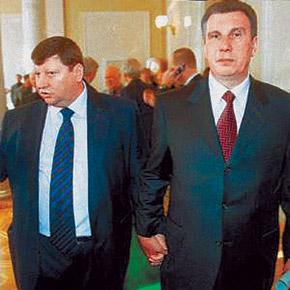 Уже не политики, но по-прежнему кумовья: Волков и Щербань породнились, когда последний был в тюрьме.