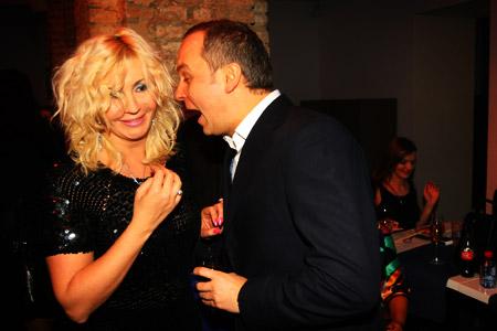 Ирина Билык и Нестор Шуфрич всегда рады видеть друг друга.