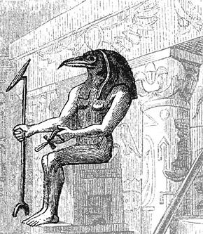 Бог Тот - потомок атлантов?
