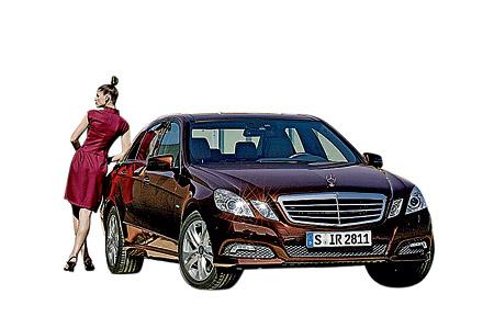 Mercedes Benz E-classe. Долгожданная премьера нового поколения бизнес-седана стала главным событием этой выставки.