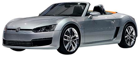 Volkswagen BlueSport Concept. Немцы представили сверхэкономичный дизельный родстер: всего 6,6 литра солярки на «сотню».