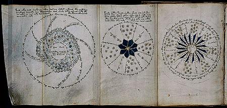 Ученые до сих пор гадают, что изображено в манускрипте Войнича. Может, это схема строения Вселенной?