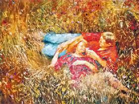 «Бабье лето», 2007. Холст, масло, 1650x2200.