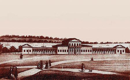 Потемкинский дворец в начале XIX века...
