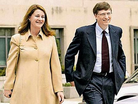 Большинство жен богатых людей не отличаются модельной внешностью. Например, супруга Билла Гейтса, основателя и владельца «Майкрософт», Мелинда не была шаблонной красоткой даже в молодости (на фото внизу).