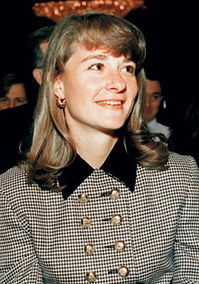 Мелинда, супруга Билла Гейтса.