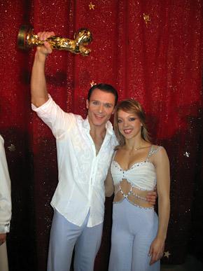 Дмитрий Григоров и Олеся Шульга получили в Монте-Карло главный приз - «Золотого клоуна».