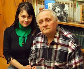 Племянник поэта Юрий Тычина и правнучка Ольга Маркина живут в Харькове.
