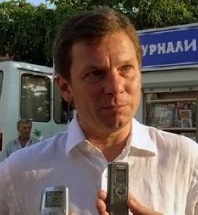 Директор здравницы Борис Новожилов.