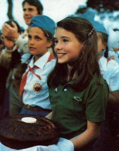 Визит Саманты Смит в СССР в 1983 году стал событием мирового масштаба.