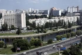 Русановская набережная - одно из самых романтичных мест Киева.