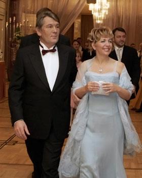 Ющенко повстречал Екатерину Чумаченко, когда был главой Нацбанка.