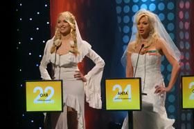 Певица Оля Полякова и сказочница Анита Лу заставили ведущего покраснеть.