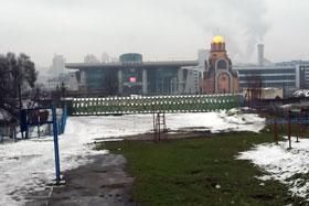 Южный вокзал и церковь Георгия Победоносца появились при Кирпе.