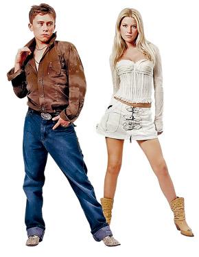 В 2005 году лицом «Интермоды» был младший сын владельца фирмы Илья. Теперь он, по слухам, будет заправлять всем бизнесом. Справа - девушка Ильи, известная модель Дарья Погодина.