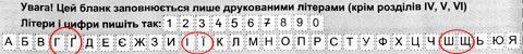 Парадокс: для чиновников буквы «И» и «Й» кажутся слишком похожими, а «І» и «Ї», «Ш» и «Щ», «Г» и «Ґ» почему-то нет…