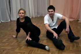 Алена в восторге от партнера: - У Васи просто бешеное желание танцевать!