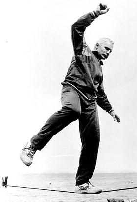 Несмотря на годы, Владимир Юрьевич в отличной физической форме.