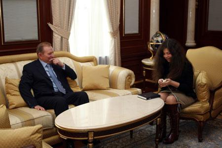 С журналистом «КП» экс-президент беседовал около двух часов.