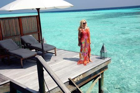 Тая утверждает: - Все, что нам показывают на картинках о Мальдивах, - правда.