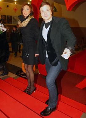 Чадов показал Киеву свою любовь – актрису Агнию Дитковските.