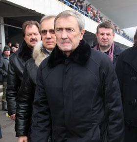 Леонид Черновецкий: - Я восстановлю ипподром в короткие сроки!..