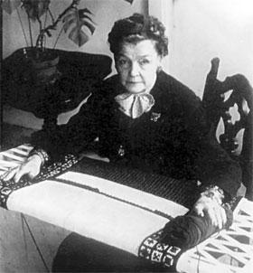Варвара Андреевна вышивала всю жизнь - до 97 лет.