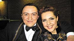 После «Цирка со звездами» Владислав подружился с телеведущей Ольгой Шелест.